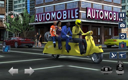 Bus Bike Taxi Driver u2013 Transport Driving Simulator  screenshots 4