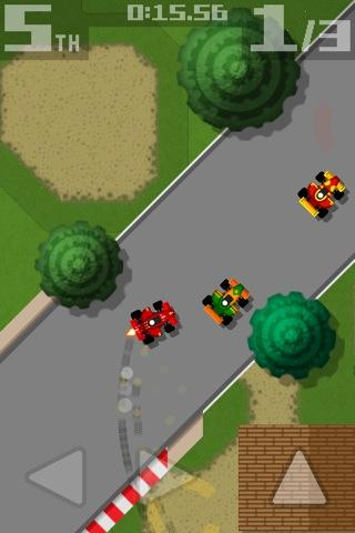 retro racing screenshot 3