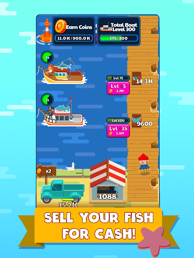 Idle Fishing Story 1.86 screenshots 6