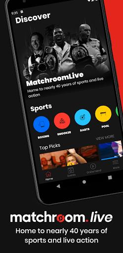 Matchroom Live 0.8 screenshots 1