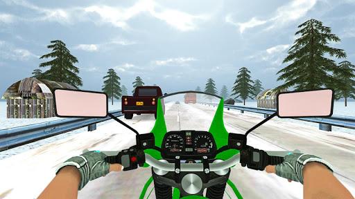 Highway Real Traffic Bike Racer screenshots 14