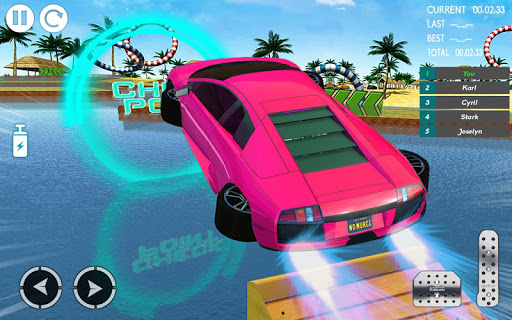 Water Car Stunt Racing 2019: 3D Cars Stunt Games 2.0 screenshots 15