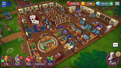 Shop Titans: Epic Idle Crafter, Build & Trade RPG apktram screenshots 12