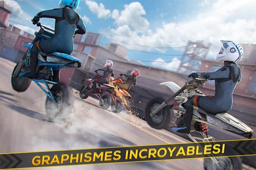 Moto Cross Extrême Freestyle -  Réal Motor Courses APK MOD – Monnaie Illimitées (Astuce) screenshots hack proof 2