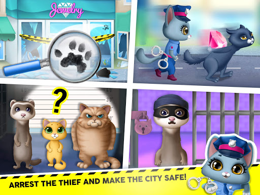 Kitty Meow Meow City Heroes - Cats to the Rescue! 4.0.21003 screenshots 12