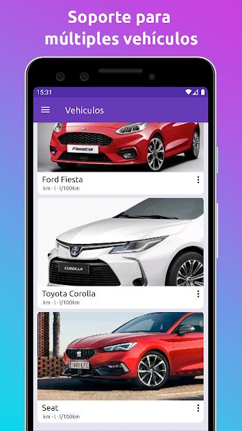 Captura 8 de Fuelio: Combustible y gastos para android