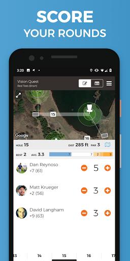 UDisc Disc Golf App Apk 12.0.8 screenshots 3