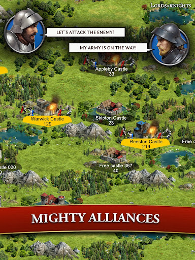 Lords & Knights - Medieval Building Strategy MMO 8.12.0 screenshots 11