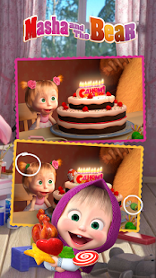 Masha and the Bear - Spot the differences