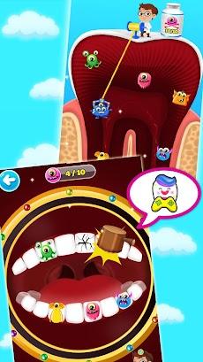 かわいい歯医者さんゲーム無料 - 医者ゲーム 無料のおすすめ画像5