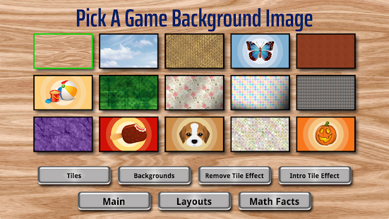 Math Facts Mahjong Game Screenshot