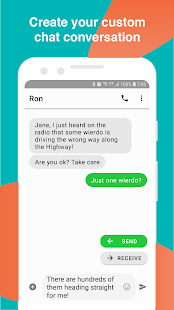 Text Message Creator Screenshot