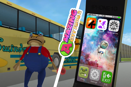 Amazing City Frog 2 Mobile – Gangster Frog  screenshots 1