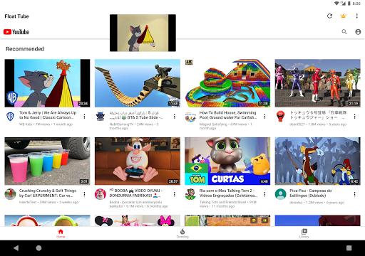 Float Tube-Few Ads, Floating Player, Tube Floating  Screenshots 17