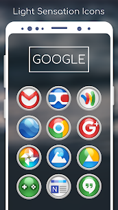 Light Sensation- Icon Pack 4.0.8 (Patched) 4