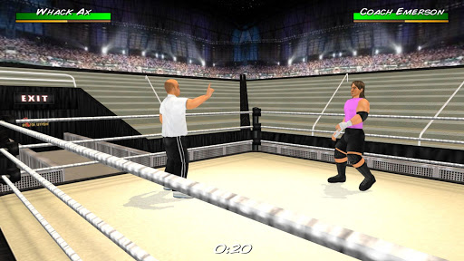 Wrestling Revolution 3D screenshots 13