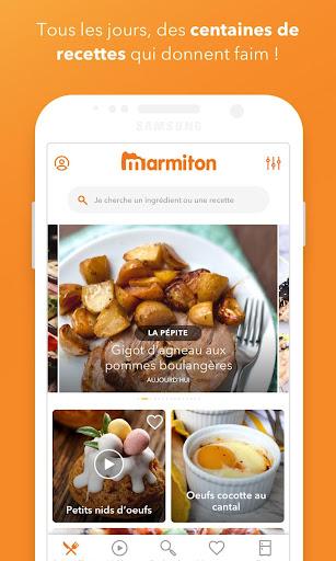 Marmiton : Recettes gourmandes 5.4.17-minApi21 screenshots 1