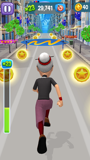 Angry Gran Run - Running Game  screenshots 21