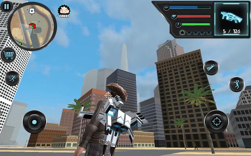 Jetpack Hero Miami Crime 1.8 screenshots 4