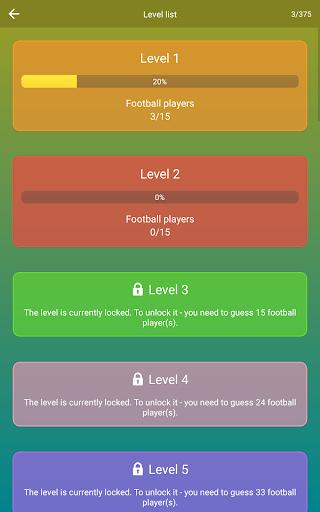Guess the Soccer Player: Football Quiz & Trivia 2.30 Screenshots 20