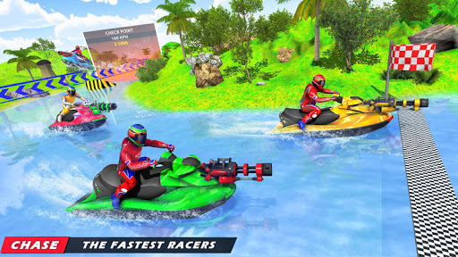 Jet Ski Racing Games: Jetski Shooting - Boat Games 1.0.16 Screenshots 2
