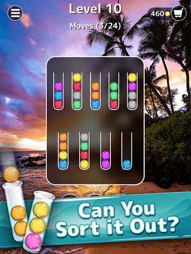 Ballscapes: Ball Sort Puzzle & Color Sorting Games  screenshots 10