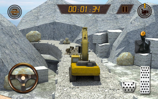 Hill Excavator Mining Truck Construction Simulator screenshots 9