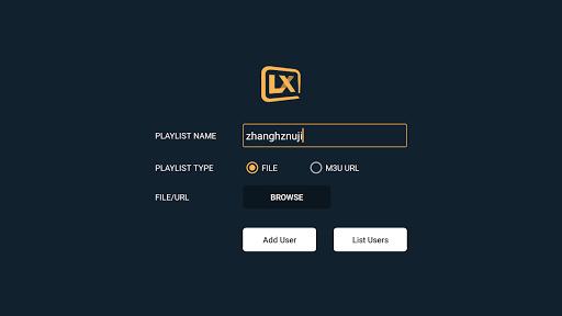 Lxtream Player 1.2.6 Screenshots 21