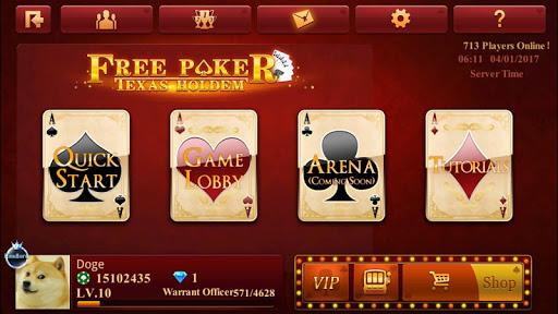 Free Poker-Texas Holdem 2.3.2.0 Screenshots 1
