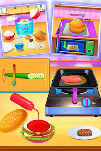 Cooking Foods In The Kitchen