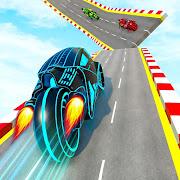Mega Ramp Light Bike Stunts: New Bike Stunt Games