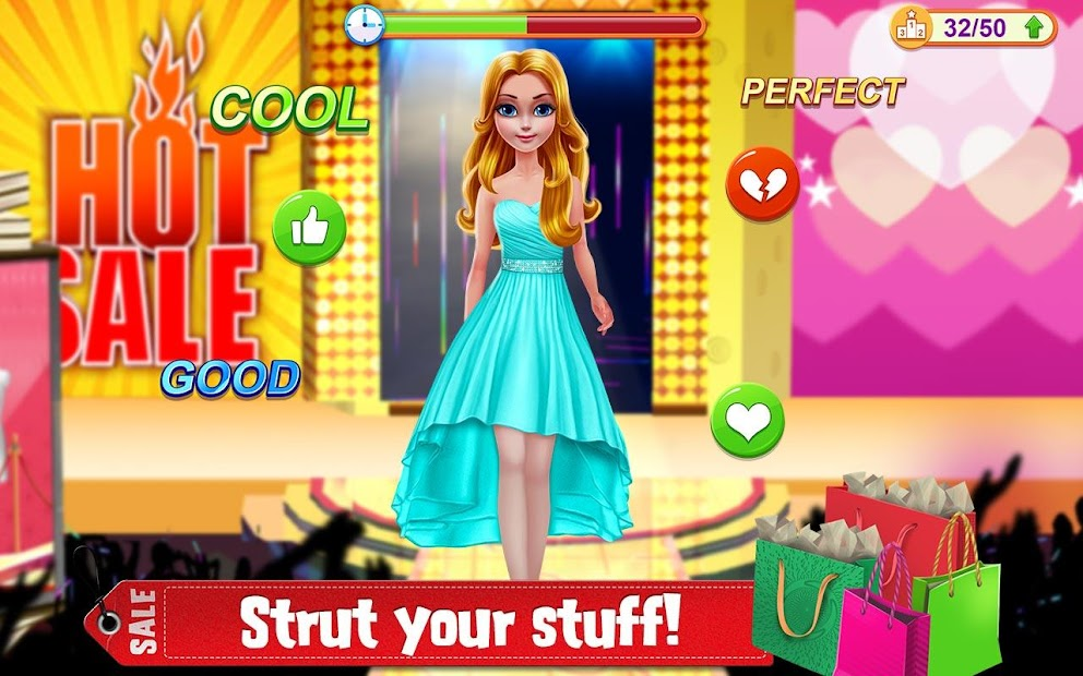 Shopping Mania - Black Friday Fashion Mall Game screenshot 2