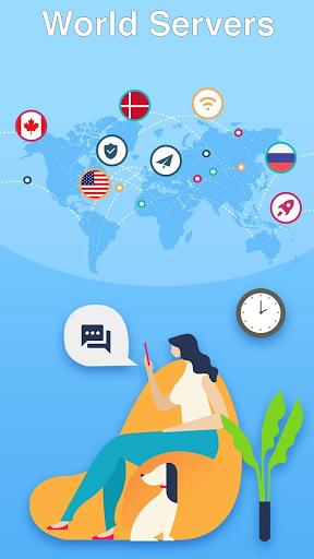 Super Master Free VPN - High Speed, Secure Proxy  screenshots 2