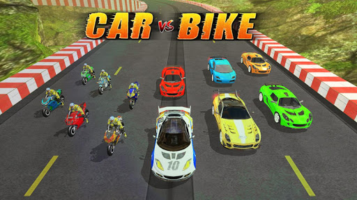 Car vs Bike Racing screenshots 1