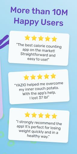 YAZIO Calorie Counter & Intermittent Fasting App 7.1.5 Screenshots 8