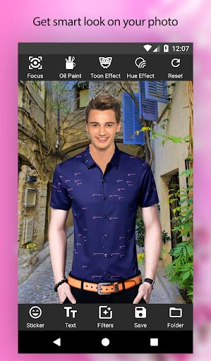 Man Shirt Photo Suit Editor apktram screenshots 5