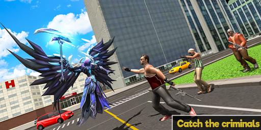 Flying Angel Superheroes Battle 2020 - Crime Time  screenshots 3