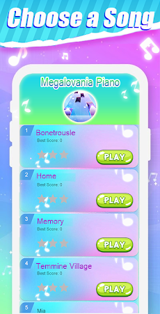 Megalovania Piano Game - Undertale Sansのおすすめ画像1