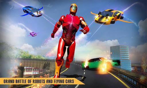 Flying Robot Car Games - Robot Shooting Games 2020 2.1 screenshots 2