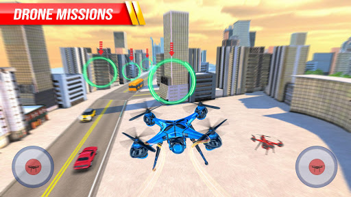 Drone Attack Flight Game 2020-New Spy Drone Games 1.5 screenshots 4