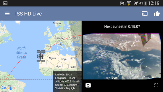 ISS Live Now: Live HD Earth View and ISS Tracker 6.2.9 Screenshots 12