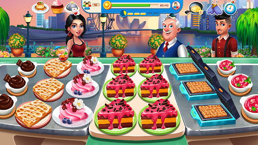 Cooking Travel - Food truck fast restaurant android2mod screenshots 4
