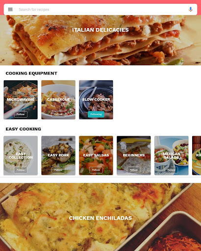 Foto do Mexican recipes free cooking apps