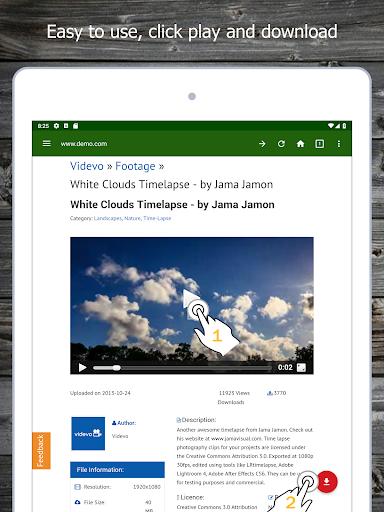 Video Downloader android2mod screenshots 16