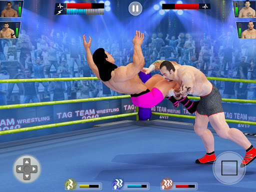 Tag Team Wrestling Games: Mega Cage Ring Fighting modavailable screenshots 12