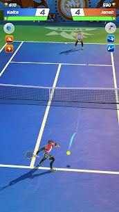 Tennis Clash Mod APK [3D Sports] 1v1 Free Online Sports Game 6