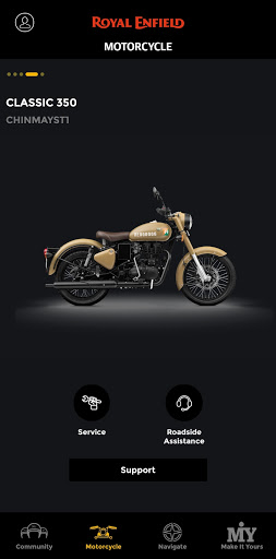 Royal Enfield App 6.7 Screenshots 12