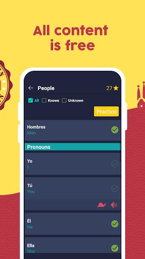 Learn Spanish - Beginners screenshots 2