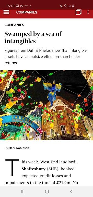 Investors Chronicle magazine  poster 7