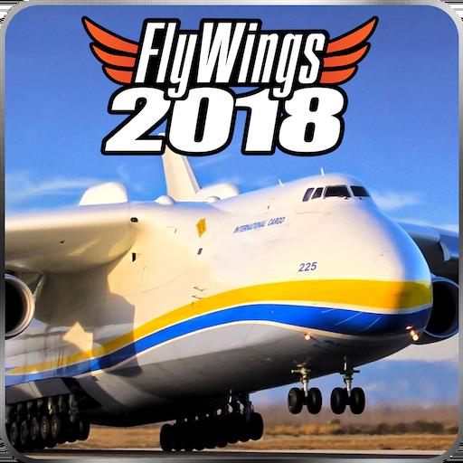 Baixar Flight Simulator 2018 FlyWings Free para Android